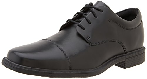 Rockport OFFICE ESSENTIALS / ELLINGWOOD BLACK, Herren Derby Schnürhalbschuhe