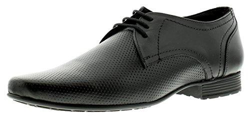 Herren schwarze Office Schuhe